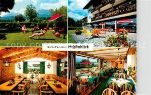 AK / Ansichtskarte Kruen Hotel Pension Schoenblick  Kat. Kruen