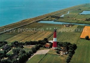 AK / Ansichtskarte Pellworm Fliegeraufnahme Leuchtturm  Kat. Pellworm