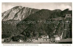 AK / Ansichtskarte Walchensee Kraftwerk mit Wasserschloss Kat. Kochel a.See