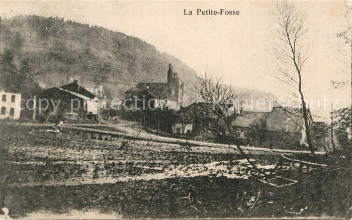 AK / Ansichtskarte La Petite Fosse Teilansicht Kirche Kat. La Petite Fosse