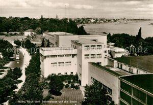 AK / Ansichtskarte Bonn Rhein Blick vom Bundeshaus auf die Stadt Kat. Bonn