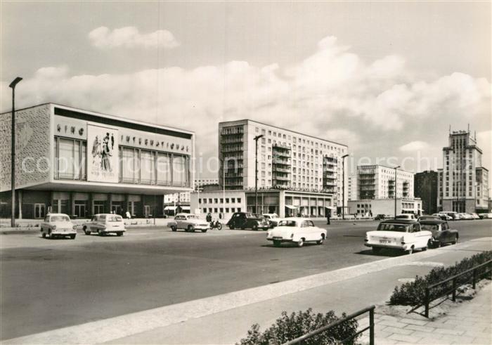 AK / Ansichtskarte Berlin Karl Marx Allee Hauptstadt der DDR Kat. Berlin