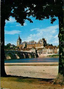 AK / Ansichtskarte Gien Chateau et Pont sur la Loire Kat. Gien
