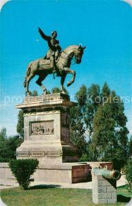AK / Ansichtskarte Puebla Monumento al Gral Ignacio Zaragoza Denkmal Reiterstandbild Kat. Puebla