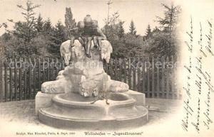 AK / Ansichtskarte Wollishofen Jugendbrunnen  Kat. Wollishofen