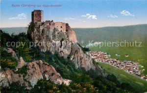 AK / Ansichtskarte Rappoltsweiler Haut Rhin Elsass Ruine Giersberg Kat. Ribeauville