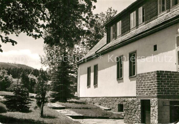 AK / Ansichtskarte Sehma Ferienheim Waldhaus des DTB der DDR Kat. Sehmatal