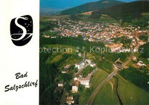 AK / Ansichtskarte Bad Salzschlirf Fliegeraufnahme  Kat. Bad Salzschlirf
