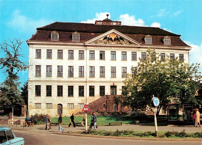 AK / Ansichtskarte Halle Saale Frankesche Stiftungen Kat. Halle
