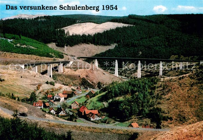 AK / Ansichtskarte Schulenberg Oberharz Restaurant Das Tanneck Fliegeraufnahme Brueckenpartie Kat. Schulenberg im Oberharz