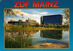 AK / Ansichtskarte Mainz Rhein ZDF Verwaltungsgebaeude und Sendezentrum auf Lerchenberg