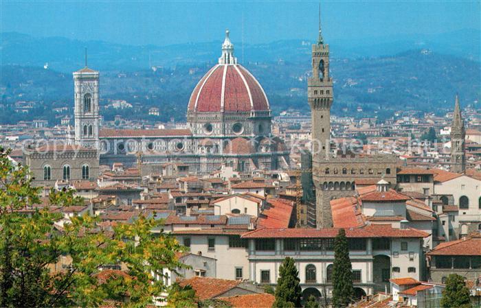 AK / Ansichtskarte Florenz Blick vom Piazzale Michelangelo Kat. Italien