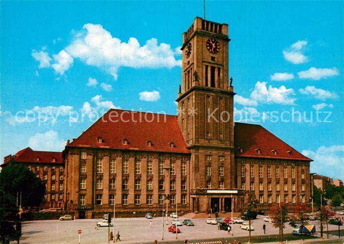 AK / Ansichtskarte Schoeneberg Berlin Rathaus Kat. Berlin