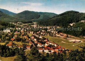 AK / Ansichtskarte Bad Herrenalb Panorama Kurort im Schwarzwald Kat. Bad Herrenalb