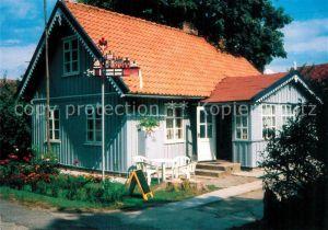 AK / Ansichtskarte Schwarzort = Juodkrante Fischerhaus Kat.