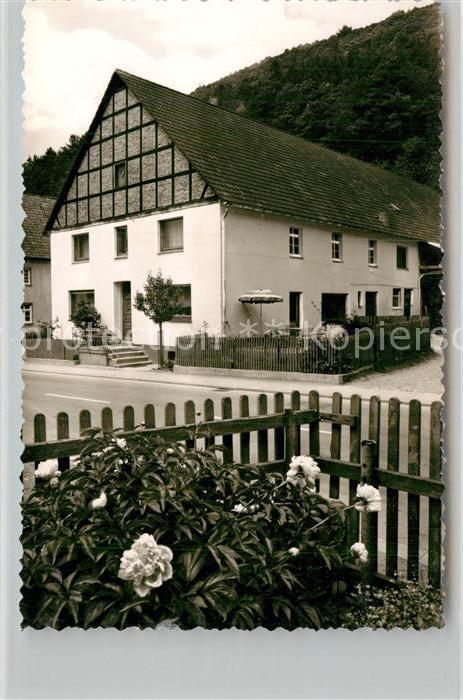 AK / Ansichtskarte Hagen Sorpetal Privatpension aenne Vogt Kat. Sundern (Sauerland)