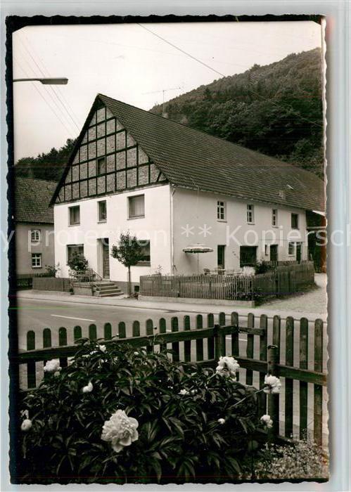 AK / Ansichtskarte Hagen Sorpetal Pension Vogt Kat. Sundern (Sauerland)