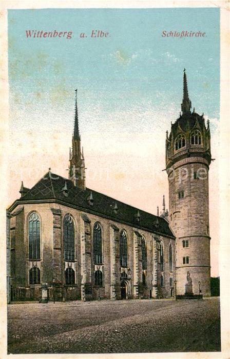 AK / Ansichtskarte Wittenbergen Elbe Schlosskirche Kat. Hamburg
