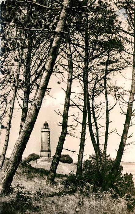 AK / Ansichtskarte Vitte Hiddensee Leuchtturm