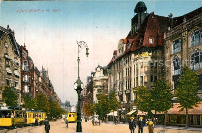 AK / Ansichtskarte Frankfurt Main Zeil Kat. Frankfurt am Main