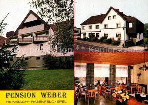 AK / Ansichtskarte Hasenfeld Pension Weber Kat. Heimbach
