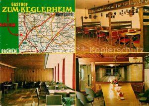 AK / Ansichtskarte Nartum Gasthof zum Keglerheim Kat. Gyhum