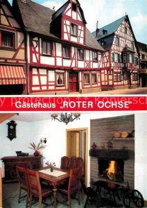 AK / Ansichtskarte Rhens Hotel Restaurant Roter Ochse Kat. Rhens