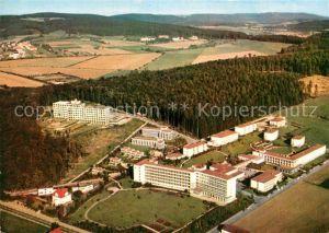 AK / Ansichtskarte Bad Driburg Sanatorium der BfA Berlin mit Fachklinik Rosenberg LVA Fliegeraufnahme Kat. Bad Driburg
