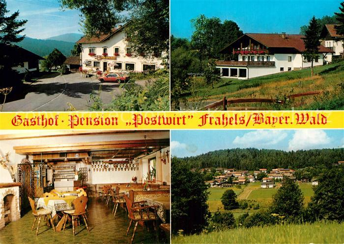 AK / Ansichtskarte Frahels Oberpfalz Gasthof Pension Postwirt Kat. Lam