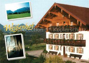 AK / Ansichtskarte Inzell Ferienwohnung Weissenhof Kat. Inzell