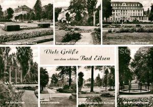 AK / Ansichtskarte Bad Eilsen Rosengarten Badehaus Fuerstenhof Kurhotel  Kat. Bad Eilsen