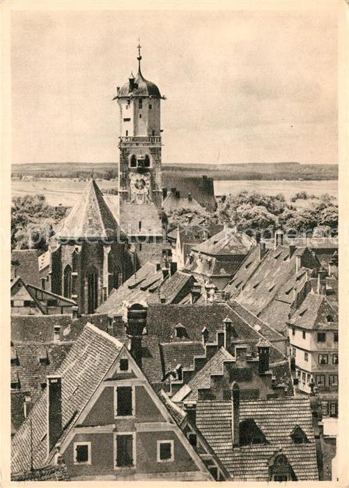 AK / Ansichtskarte Memmingen St. Martins Kirche Kat. Memmingen