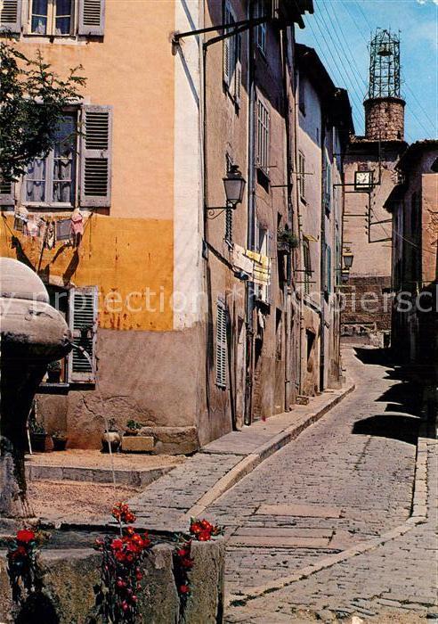 AK / Ansichtskarte Les Arcs Rue de l horloge Kat. Les Arcs