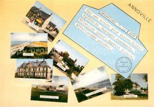 AK / Ansichtskarte Annoville Le Bourg La Plage La Colonie de Vacances Route de la Plage Le Chateau Kat. Annoville