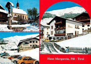 AK / Ansichtskarte Fiss Tirol Haus Margareta Kat. Fiss