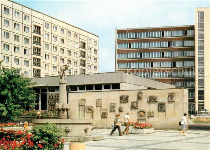 AK / Ansichtskarte Magdeburg Eulenspiegelbrunnen am Alten Markt Kat. Magdeburg
