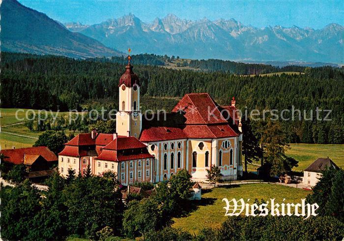 AK / Ansichtskarte Steingaden Oberbayern Wallfahrtskirche Die Wies Kat. Steingaden