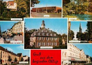 AK / Ansichtskarte Ohligs Solingen Bahnhof Volkspark Bahnstrasse Schloss Hackhausen Engelsberger Hof Duesseldorfer Strasse Wilhelmstrasse Kat. Solingen