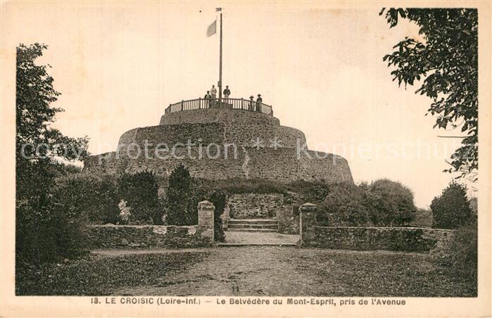 AK / Ansichtskarte Le Croisic Le Belvedere du Mont Esprit  Kat. Le Croisic