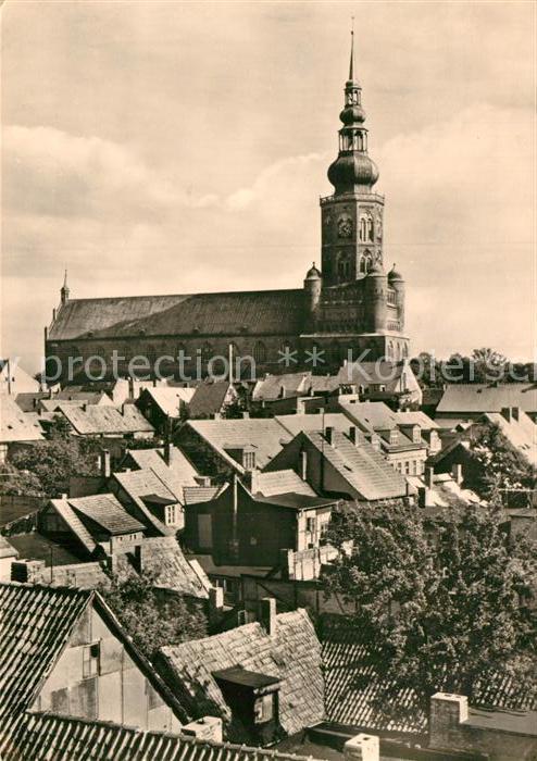 AK / Ansichtskarte Greifswald Blick zum Dom