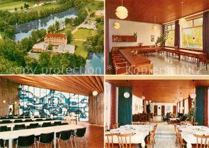 AK / Ansichtskarte Rindern Wasserburg Heimvolkshochschule Kat. Kleve