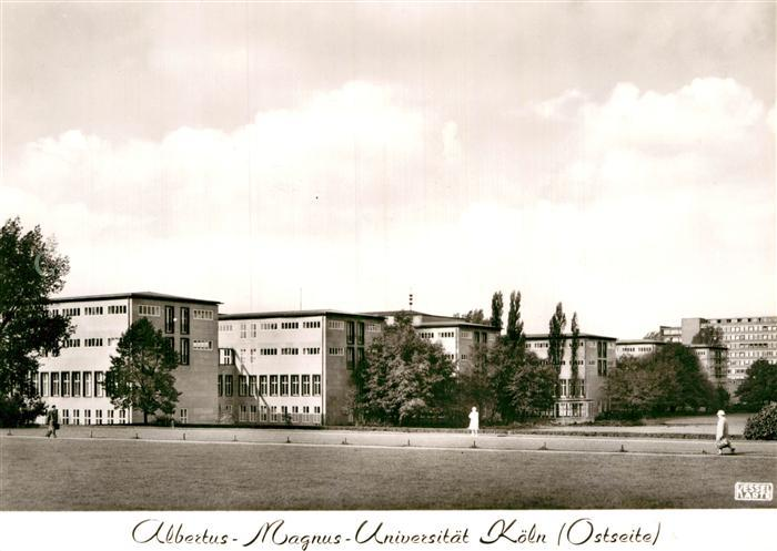 AK / Ansichtskarte Koeln Rhein Albertus Magnus Universitaet Kat. Koeln