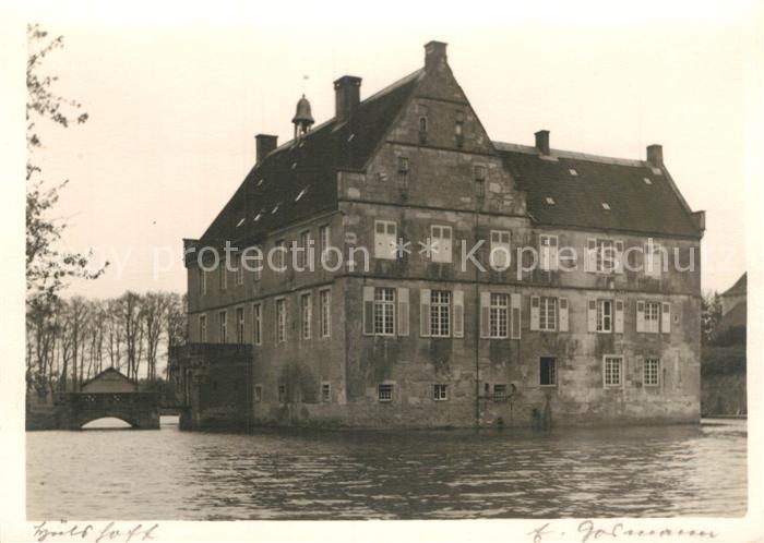 AK / Ansichtskarte Havixbeck Burg Huelshoff Kat. Havixbeck