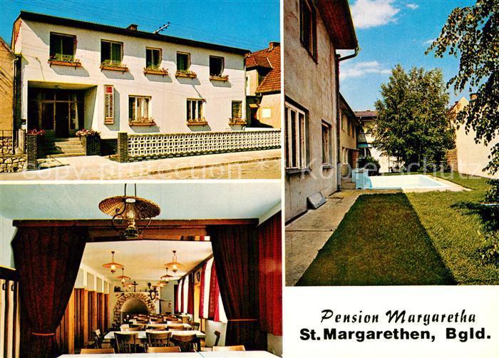 AK / Ansichtskarte Sankt Margarethen Burgenland Pension Margarretha Kat. Sankt Margarethen im Burgenland
