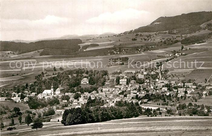 AK / Ansichtskarte Gersfeld Rhoen Panorama  Kat. Gersfeld (Rhoen)