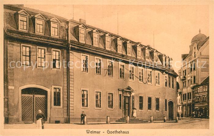 AK / Ansichtskarte Weimar Thueringen Goethehaus Kat. Weimar