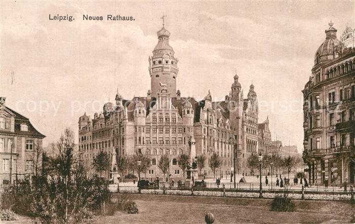 AK / Ansichtskarte Leipzig Neues Rathaus Kat. Leipzig