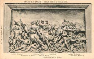 AK / Ansichtskarte Mars la Tour Haut Relief d Infanterie Kat. Mars la Tour