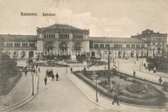 AK / Ansichtskarte Hannover Bahnhof Kat. Hannover