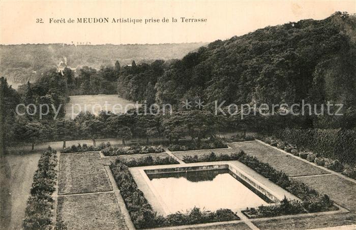 AK / Ansichtskarte Meudon Foret de Meudon Artistique prise de la Terrasse Kat. Meudon
